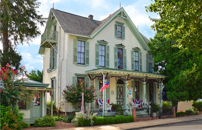 Inn at the Canal in Chesapeake City, Maryland